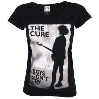 t-shirt metal donna Cure - BOYS DON'T CRY - AMPLIFIED, AMPLIFIED, Cure