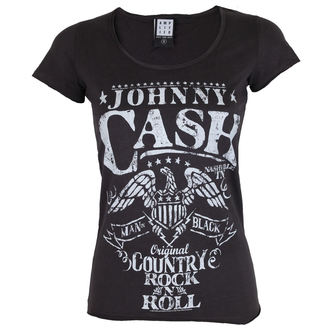 t-shirt metal donna Johnny Cash - JOHNNY CASH - AMPLIFIED, AMPLIFIED, Johnny Cash