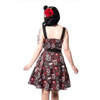 vestito donne Rockabella - CARMEN - NERO, ROCKABELLA