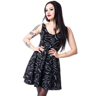 vestito donna Heartless - CRYPT - NERO, HEARTLESS