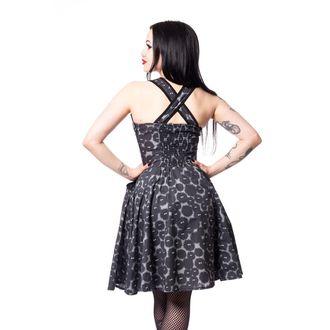 vestito donna CUPCAKE CULT - DUST - NERO / GRIGIO, CUPCAKE CULT