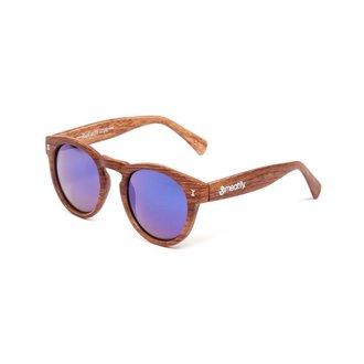 occhiali da sole MEATFLY - Lunaris - E - Marrone / Legna, MEATFLY