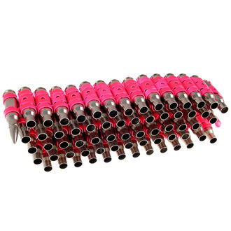 cintura Argento & Fluorescente - Pink Metal Bullet