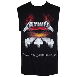 top uomo Metallica - Master Of Puppets - Nero, Metallica