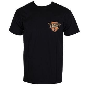 t-shirt street uomo - FINISHER BIKE - BLACK HEART, BLACK HEART