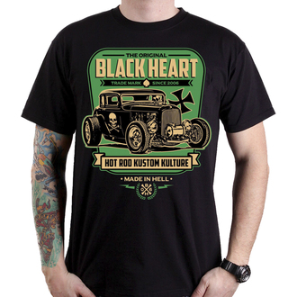 t-shirt street uomo - UNITED - BLACK HEART, BLACK HEART