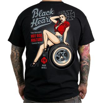t-shirt street uomo - REBECCA - BLACK HEART, BLACK HEART
