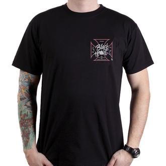 t-shirt street uomo - RED ROD PICK UP - BLACK HEART, BLACK HEART