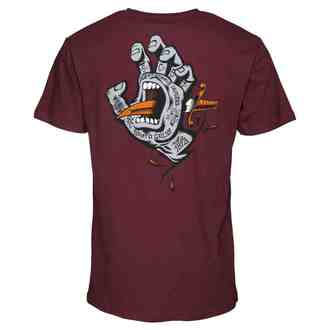 t-shirt street uomo - Flash Hand Colour - SANTA CRUZ, SANTA CRUZ