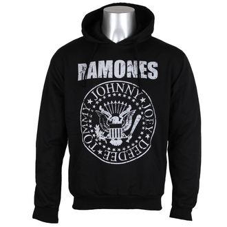 felpa con capuccio uomo Ramones - Presidential Seal - ROCK OFF, ROCK OFF, Ramones