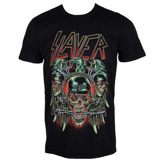 t-shirt metal uomo Slayer - Prey with Background - ROCK OFF, ROCK OFF, Slayer