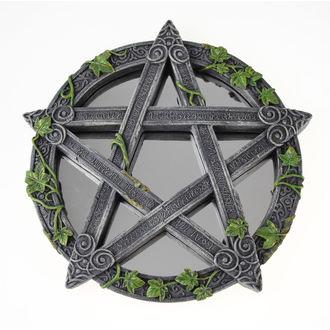 specchio (decorazione) Wiccan Pentagramma