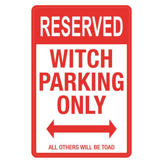 segnale Witch Parking