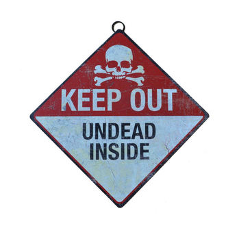 segnale Keep Out Undead Inside