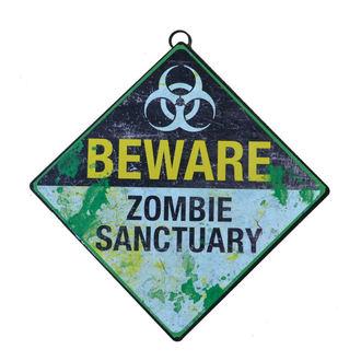 Segnale Beware Zombie Sanctuary