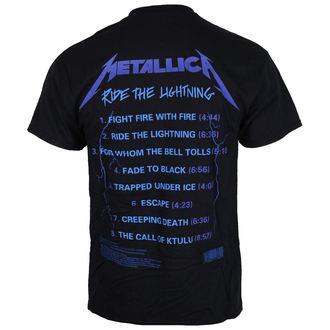 t-shirt metal uomo Metallica - Ride The Lightening -, Metallica