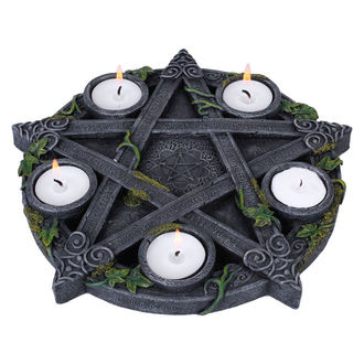 candeliere (decorazione) Wiccan Pentagramma Tè