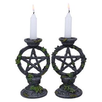 candelieri (set) Wiccan Pentagramma