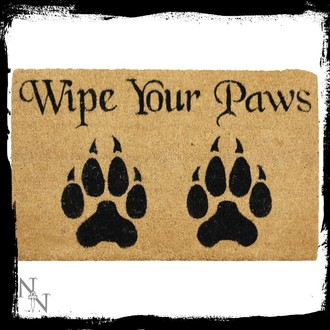 zerbino Wipe Your Paws- B2741G6, NNM