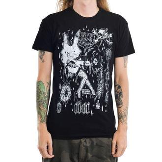 T-shirt gotica e punk uomo - MOUSEY - TOO FAST, TOO FAST