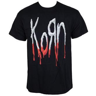 t-shirt metal uomo Korn - Bloody Logo -, Korn