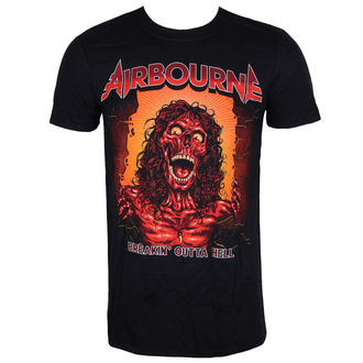 t-shirt metal uomo Airbourne - BOH SKELETON T - LIVE NATION, LIVE NATION, Airbourne