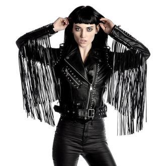 giacca di pelle donna - Harlet - KILLSTAR, KILLSTAR