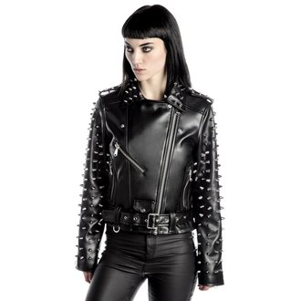 Giacca da motociclista da donna KILLSTAR - Billie - Black, KILLSTAR