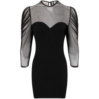 vestito donna Necessary Evil - Ruched Mesh Lyssa, NECESSARY EVIL
