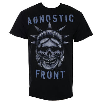 t-shirt metal uomo Agnostic Front - STATUE SKULL - RAGEWEAR, RAGEWEAR, Agnostic Front