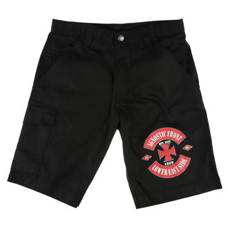 Pantaloncini uomo AGNOSTIC FRONT - LOWER EASTSIDE - Nero - RAGEWEAR, RAGEWEAR, Agnostic Front