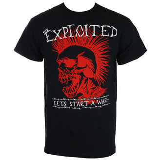 t-shirt metal uomo Exploited - LET'S START A WAR - RAGEWEAR, RAGEWEAR, Exploited
