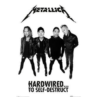 manifesto METALLICA - PYRAMID POSTERS, PYRAMID POSTERS, Metallica