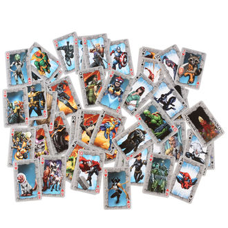 Carte da gioco Marvel Comics
