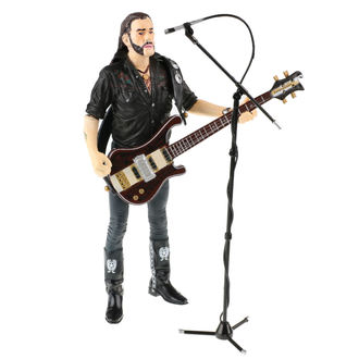 Azione figura Motörhead - Lemmy Kilmister - Chitarra Buio Legna, Motörhead