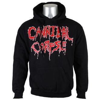 felpa con capuccio uomo Cannibal Corpse - Logo - NUCLEAR BLAST, NUCLEAR BLAST, Cannibal Corpse