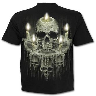 t-shirt uomo - WAXED SKULL - SPIRAL - K045M101