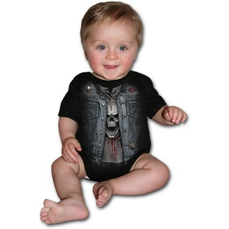 body bambini SPIRAL - THRASH METAL - Nero, SPIRAL