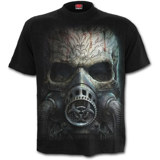 t-shirt uomo - BIO-SKULL - SPIRAL, SPIRAL