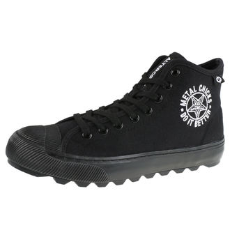 scarpe da ginnastica alte donna - Salun D - METAL CHICKS DO IT BETTER, METAL CHICKS DO IT BETTER