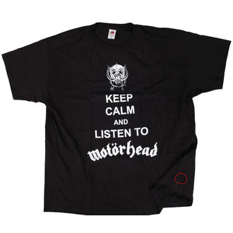t-shirt metal uomo Motörhead - Keep Calm - ROCK OFF, ROCK OFF, Motörhead