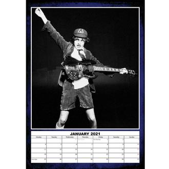 Calendario per l'anno 2021 - AC / DC, NNM, AC-DC