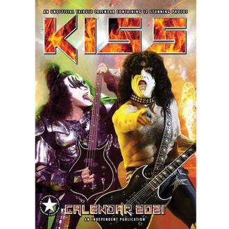 Calendario per l'anno 2021 - KISS, NNM, Kiss