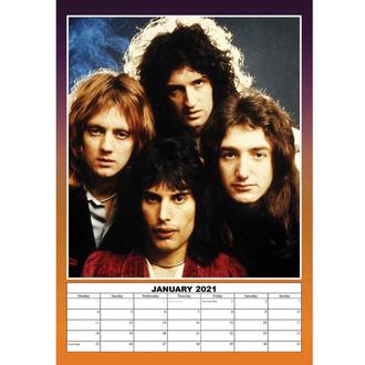 Calendario per l'anno 2021 - Queen, NNM, Queen