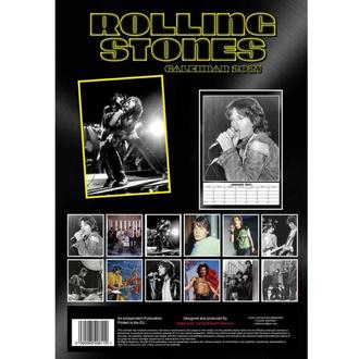 Calendario per l'anno 2021 - Rolling Stones, NNM, Rolling Stones