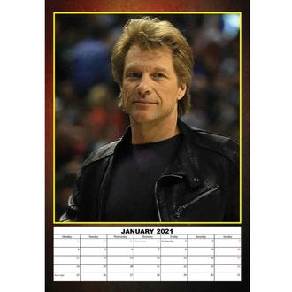 Calendario per l'anno 2021 - Bon Jovi, NNM, Bon Jovi