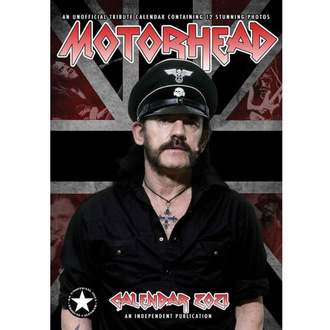 Calendario per l'anno 2021 - Motörhead, NNM, Motörhead