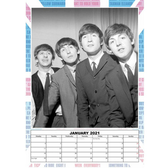 Calendario per l'anno 2021 - The Beatles, NNM, Beatles