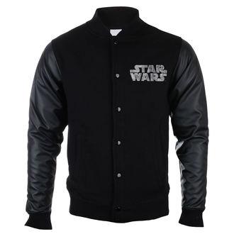 felpa senza cappuccio uomo Star Wars - LOGO METALIC - LEGEND, LEGEND