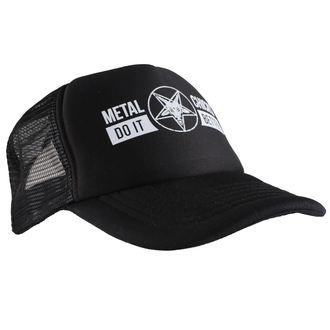 berretto METAL CHICKS DO IT BETTER - Baphomet - Logo - Nero - MCDIB016